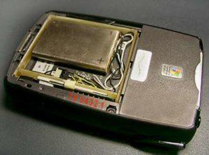 Ремонт аккумулятора iPAQ2110