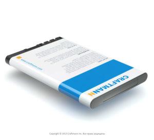 Аккумулятор для Nokia 2720 Fold (BL-4CT)